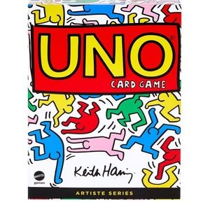 Limited Edition UNO inspired by Keith Haring